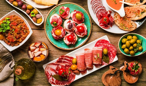 Испанские страсти» на праздничном столе